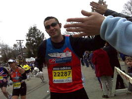 Boston Marathon 2014: Michael McDonough